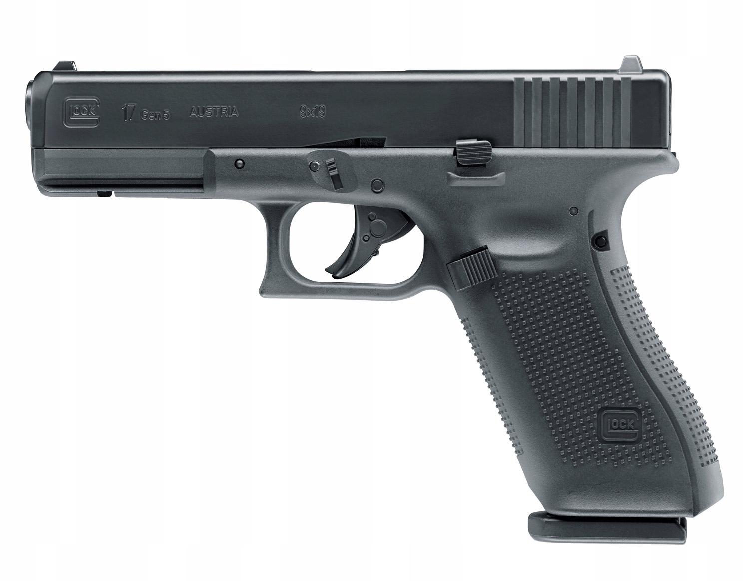 Pištoľ GBB Glock 17 gen. 5 CO2
