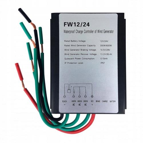Controller nabíjania vetra FW12 / 24 25A 12V 24V