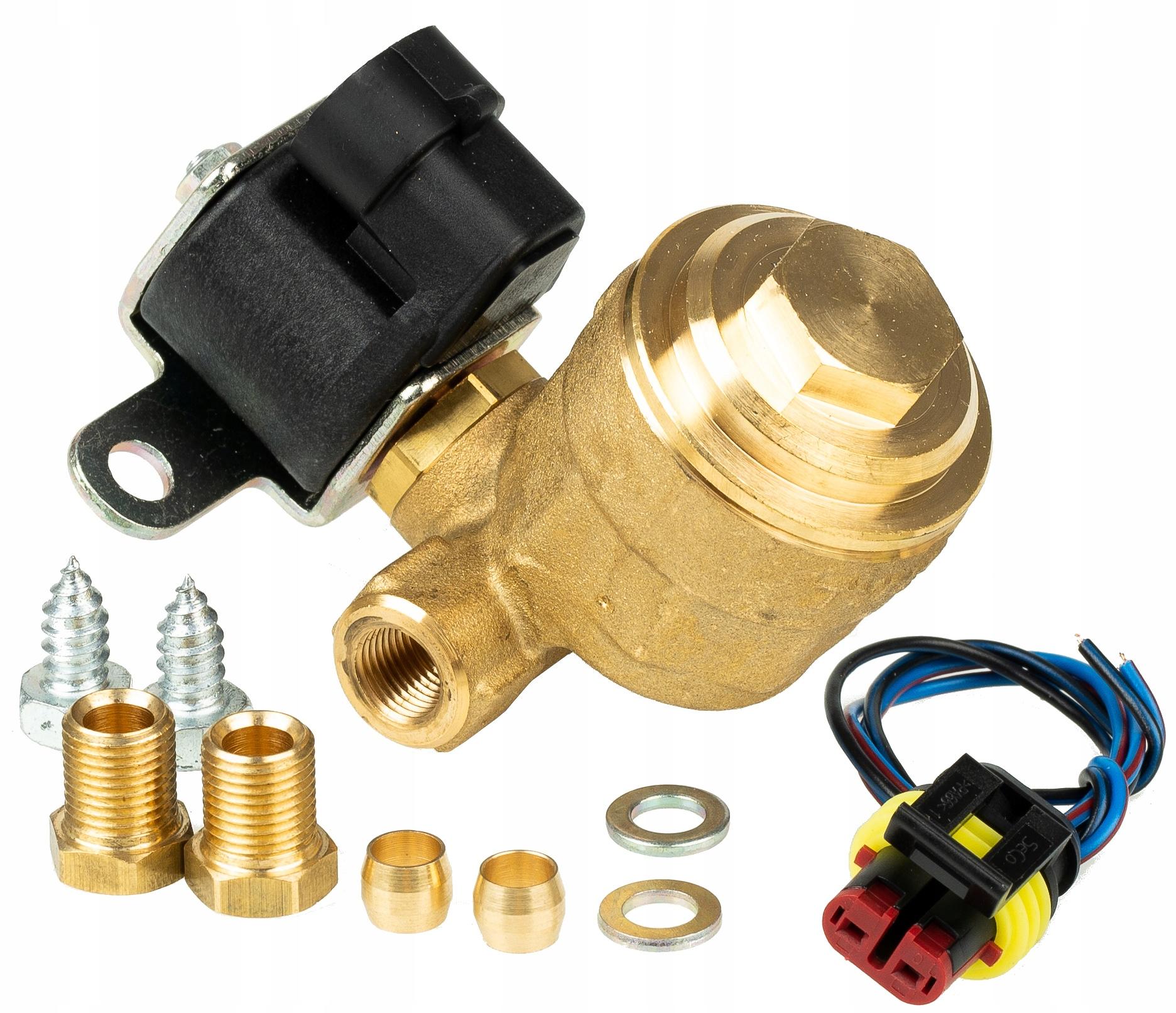 клапан газовый omb 66mm тип gb2 электроклапан + разъем