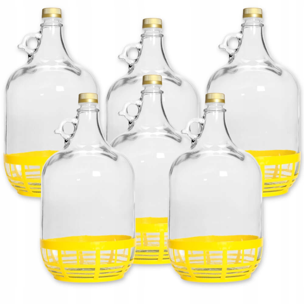 6X GINGER 5L BALLOON LADY BOTTLE OF WINE + ЗАКРЫТЬ
