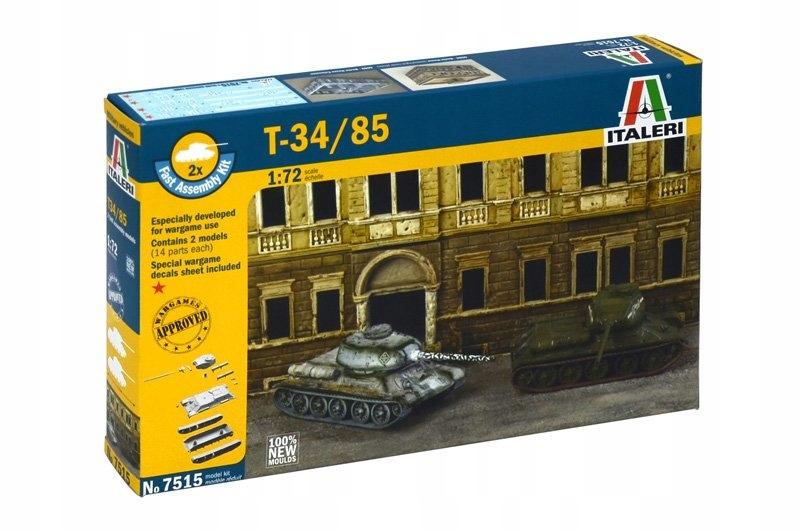 Italeri 1:72 T-34/85   2 modele  