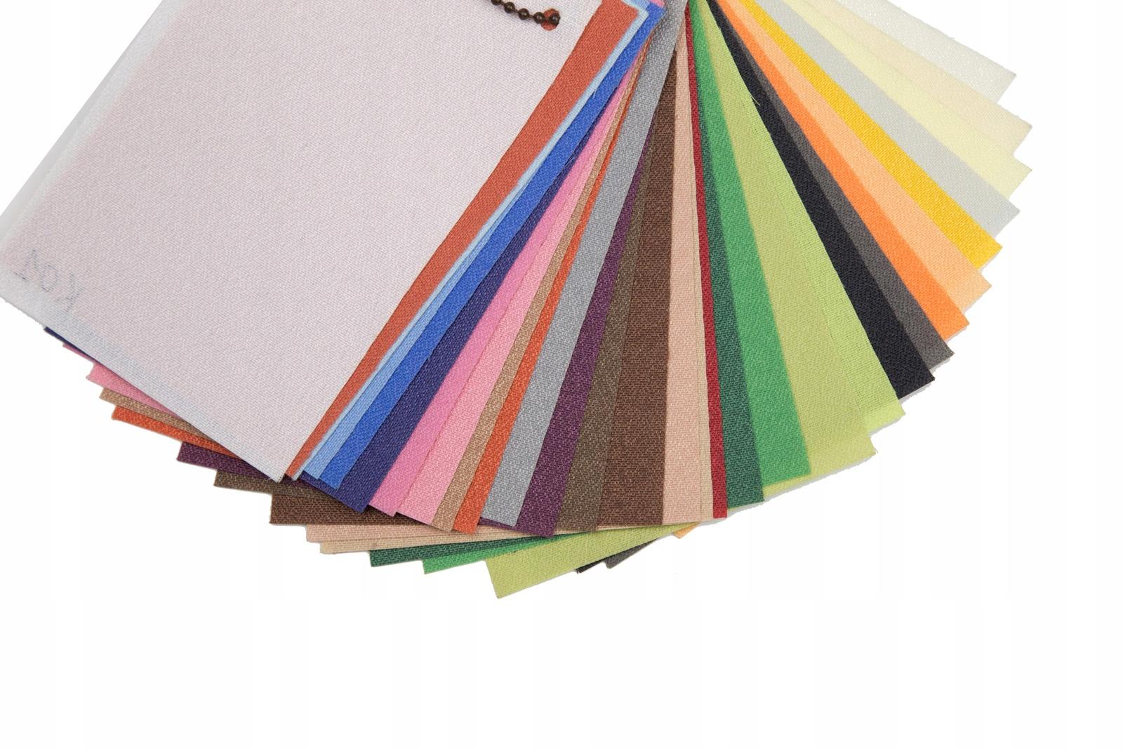 Wzornik tkanin do 5 dowolnych kolorów
