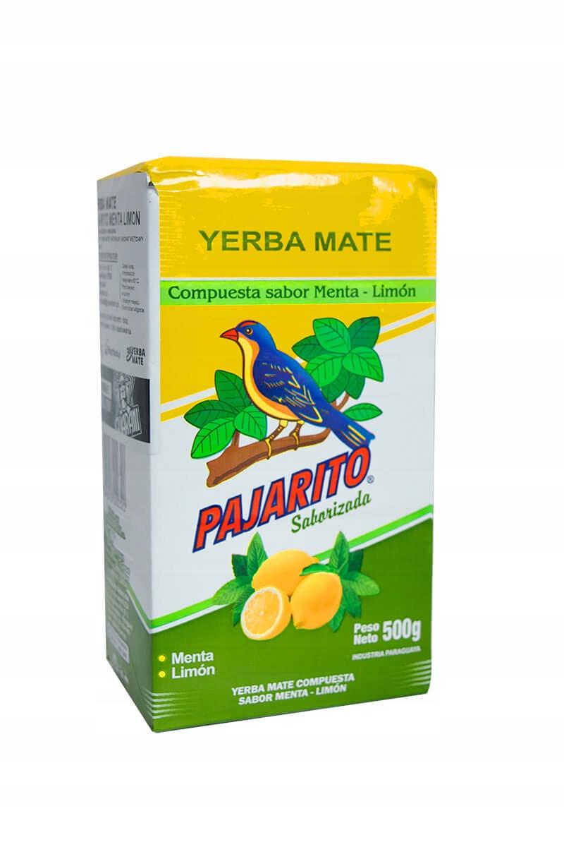 Yerba Mate PAJARITO MENTA LIMON 0,5 кг