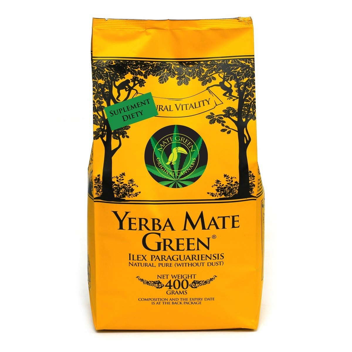 Yerba Mate Green Original Cannabis 400 г 0,4 кг