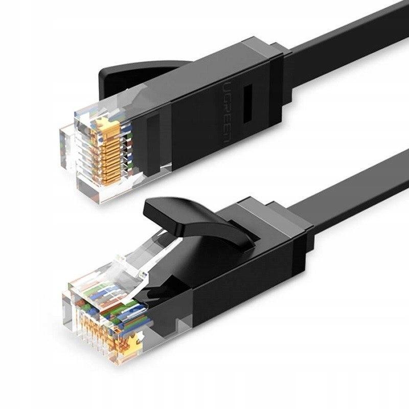 Купить Плоский Сетевой Кабель Ethernet RJ45 Cat6 UTP 100см на Otpravka - цены и фото - доставка из Польши и стран Европы в Украину.