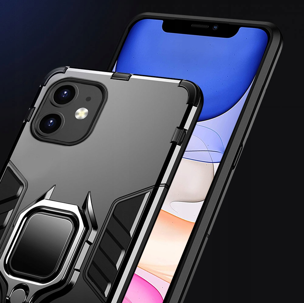 ETUI CASE PANCERNE RING + SZKŁO 9H do iPhone 11 Kod producenta SM1