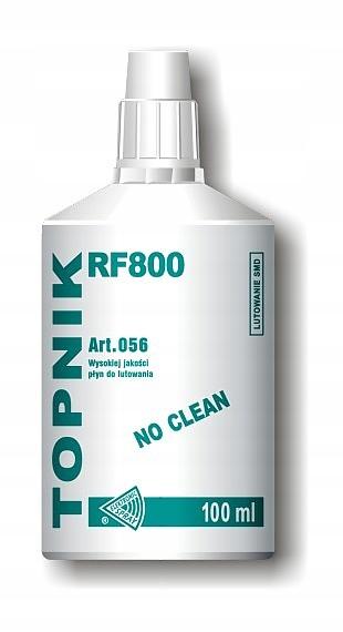 MC056 Флюс RF800 для пайки SMD No Clean 100 мл