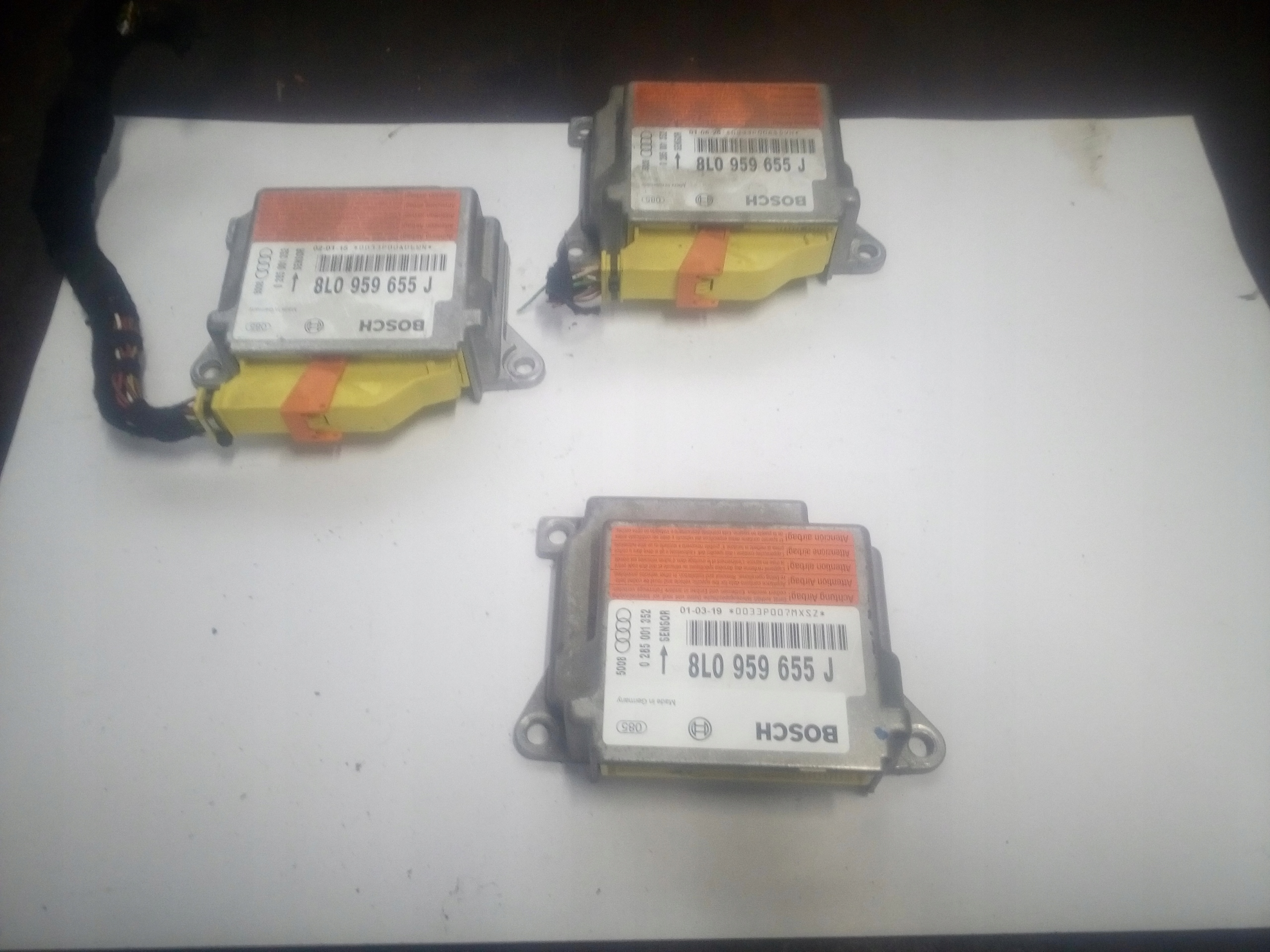 8l0959655j audi a4 b5 модуль сенсор air сумка podusze
