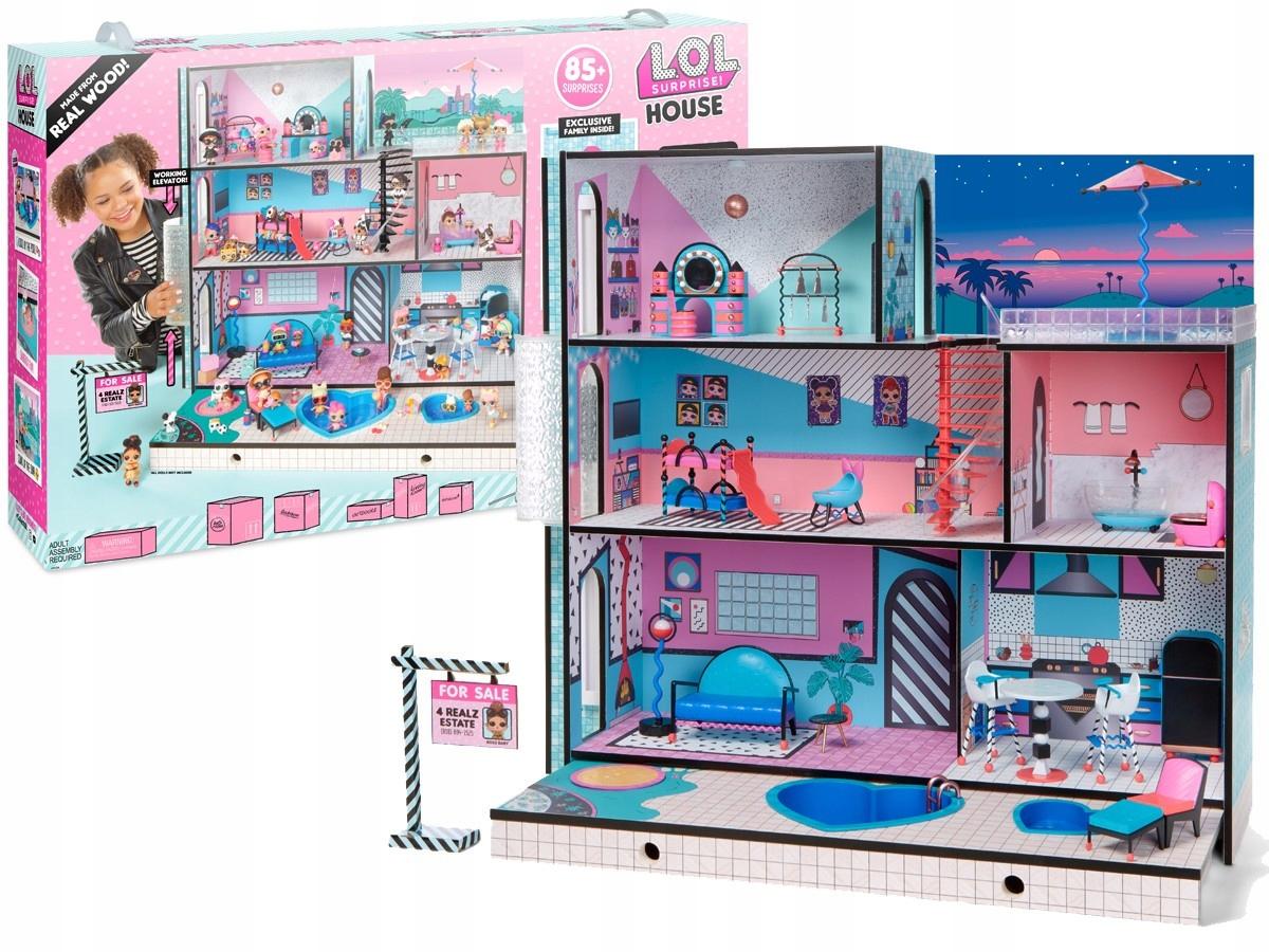 Domček pre bábiky LOL pre L.O.L. PREKVAPENIE Obrovský dom
