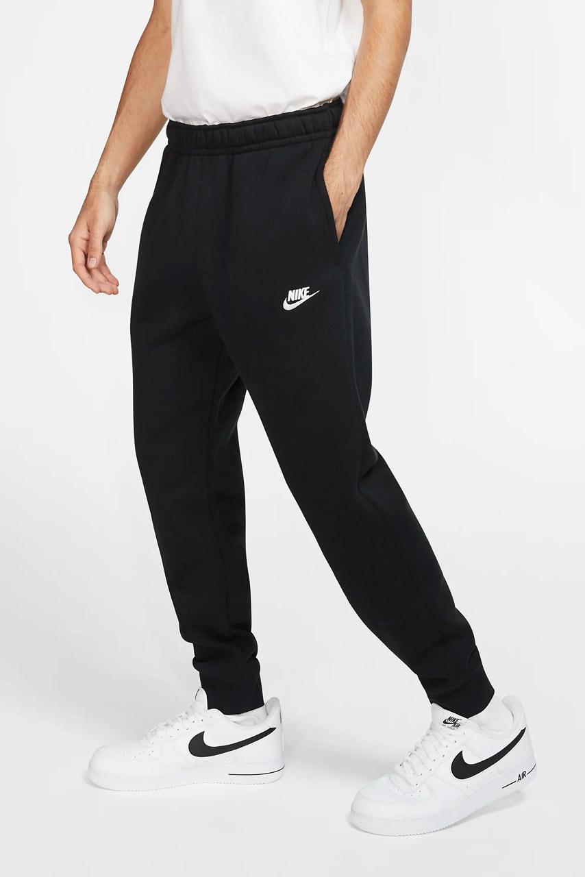 Nike spodnie dresowe męskie dresy bawełniane joggery czarne