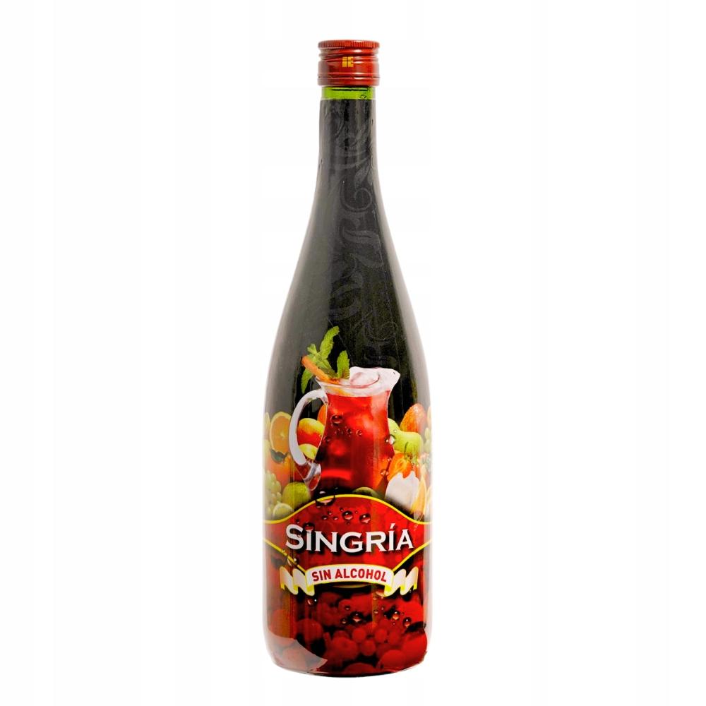 SINGRIA 1 litr sangria bezalkoholowa - drink 0%
