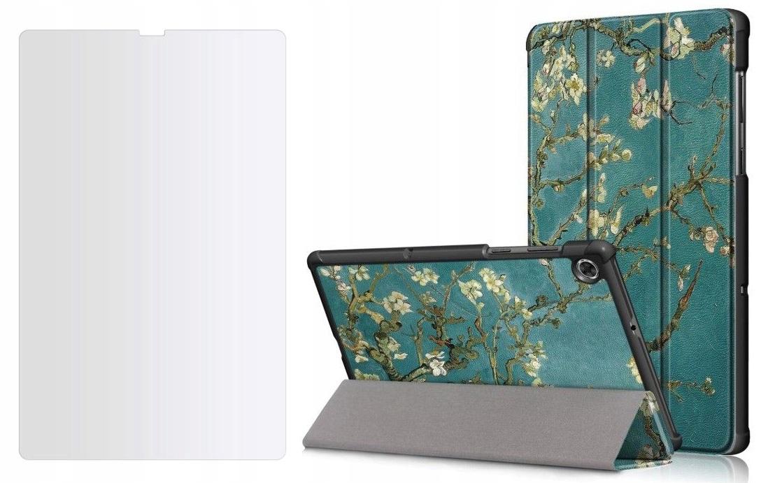 Etui do Lenovo Tab M10 Plus 10.3 Sakura + Szkło