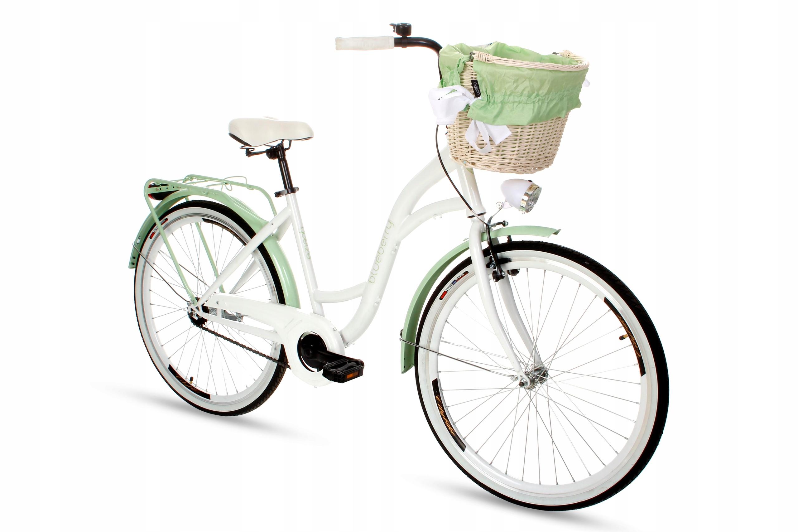Dámsky mestský bicykel Goetze BLUEBERRY 26 košík!  Materiál rámu oceľ