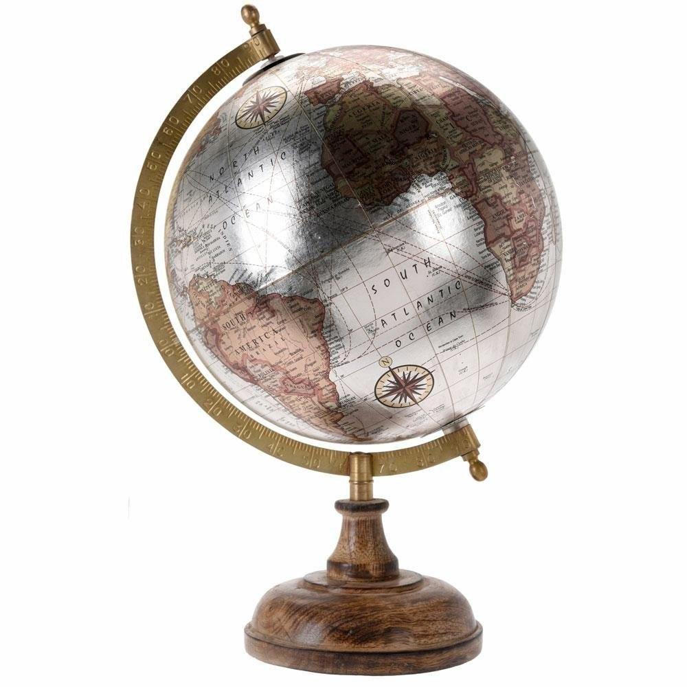 Dekoratívne oceľové svete Retro 8 palec