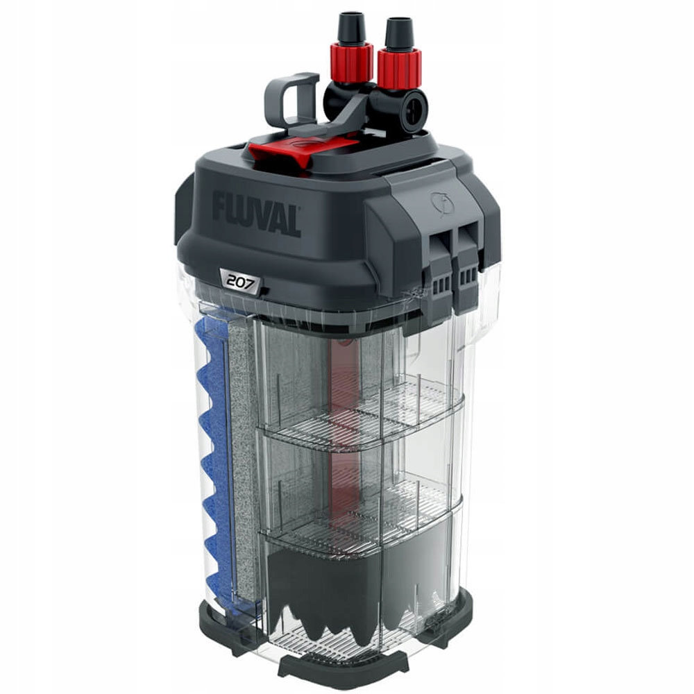 FLUVAL 207 внешний фильтр 780l / h 10W + + + бесплатно! Ширина 19 см