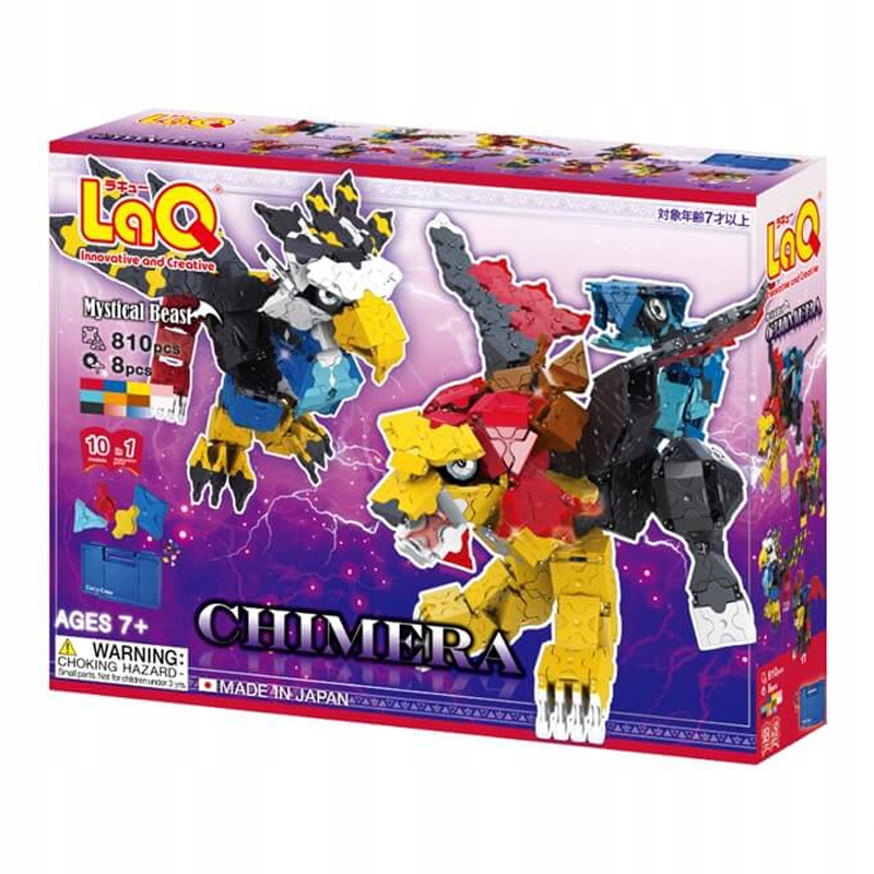 Japonské bloky LaQ Constr Mystical Beast CHIMERA