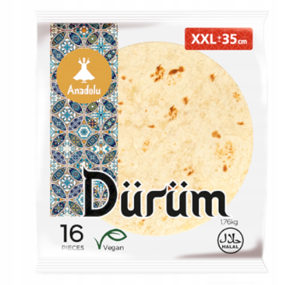 Кебаб Tortilla durum 35 см 16 шт xxl
