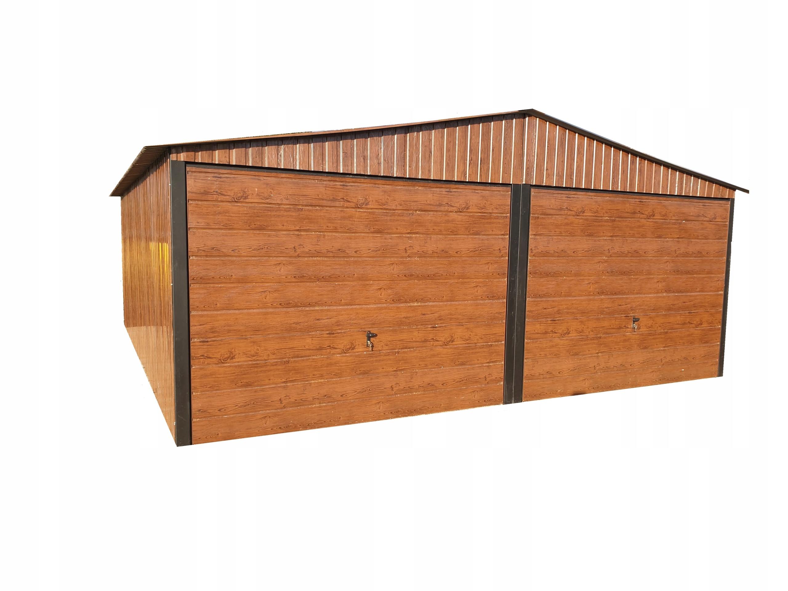 garaż blaszany 6x6 garaze blaszane blaszak