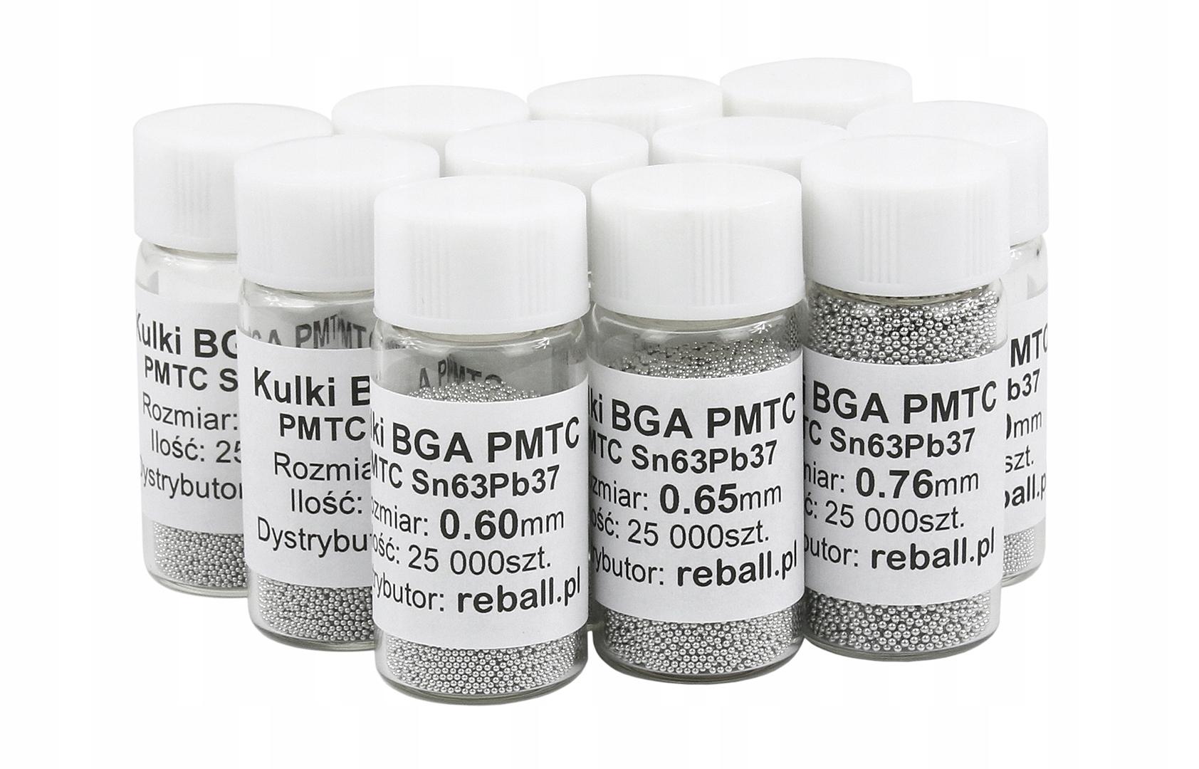 Свинцовые шары PMTC BGA 0,55 мм 25,000 REBALLING FV