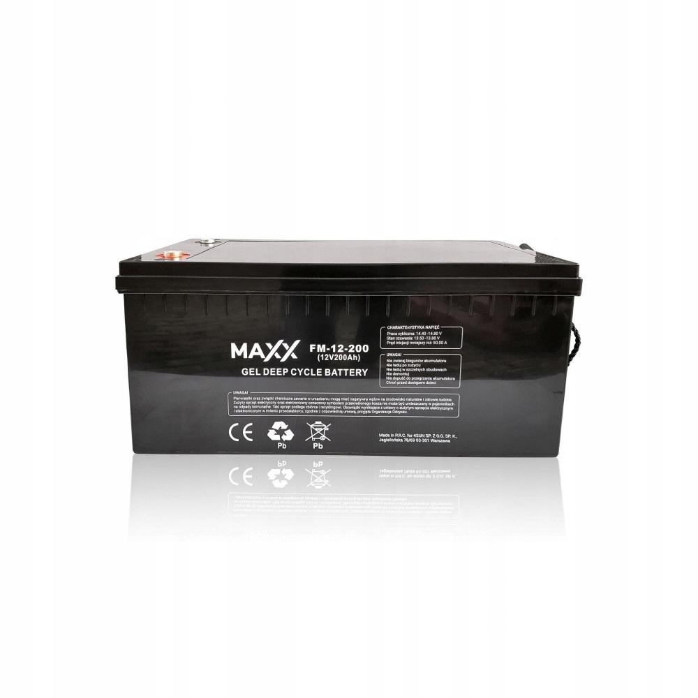 Купить Гелевый аккумулятор 12FM200 200Ah 12V на Eurozakup - цены и фото - доставка из Польши и стран Европы в Украину.