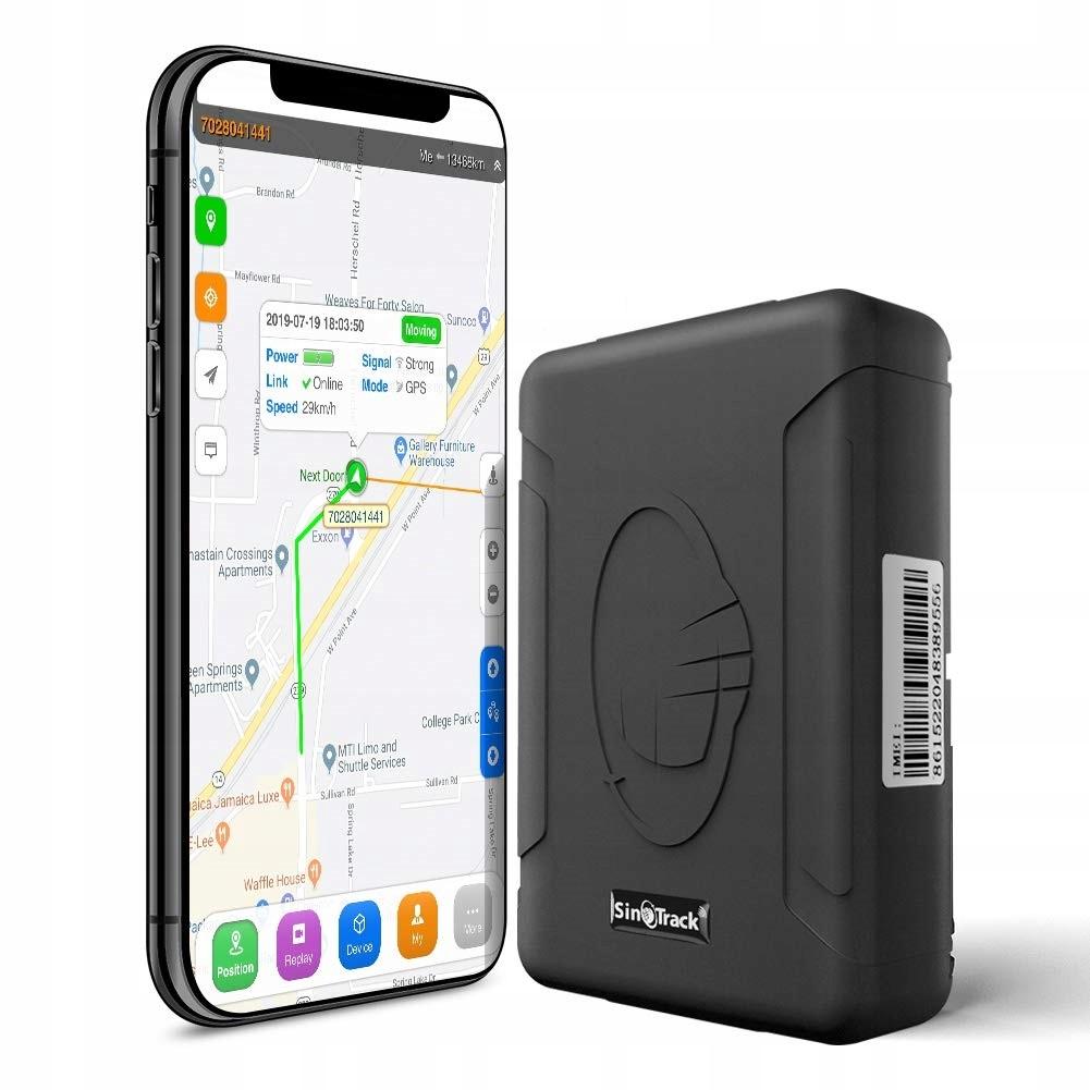 GPS-локатор Магнитное отслеживание Подслушивание 120 дней