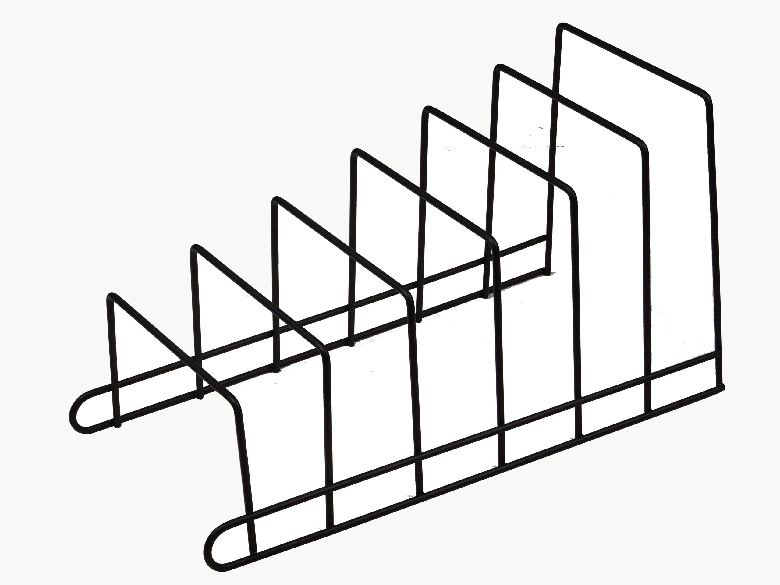 Стальная подставка-органайзер для крышек и тарелок B1701