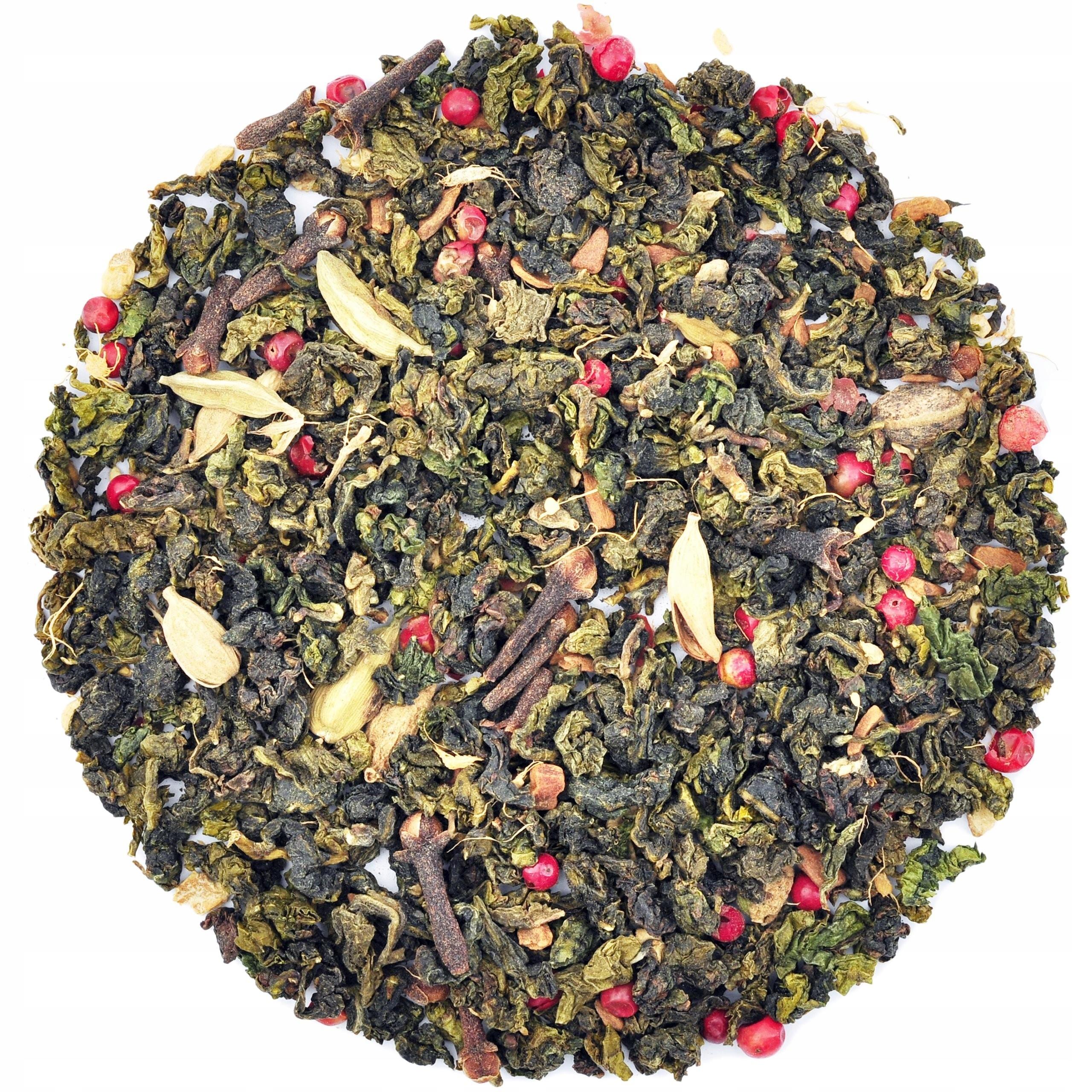Herbata CHAI OOLONG 50g cynamon, imbir, kardamon