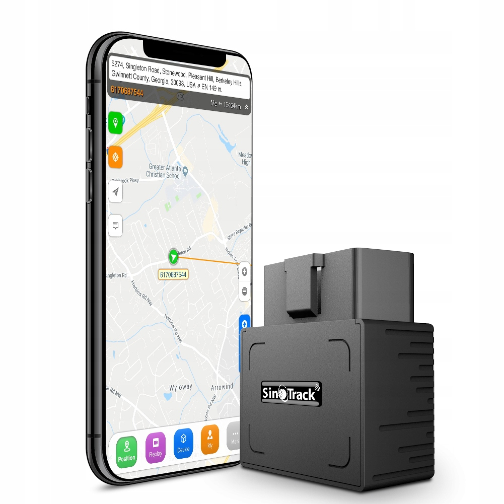 Автомобильный GPS трекер OBD2 ST902