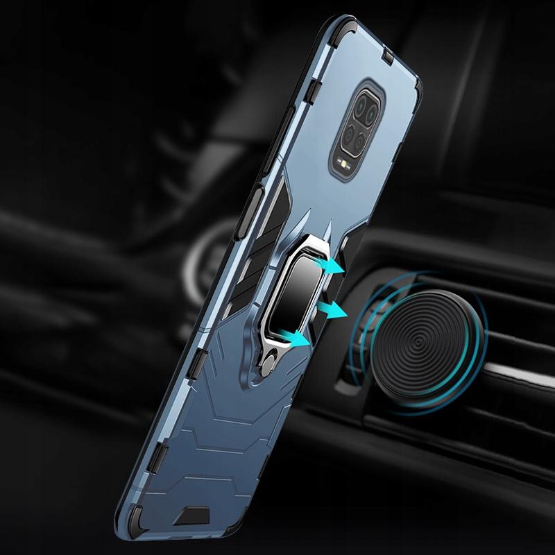 Etui do Redmi Note 9S 9 Pro Ring Case Uchwyt Szkło Przeznaczenie Xiaomi