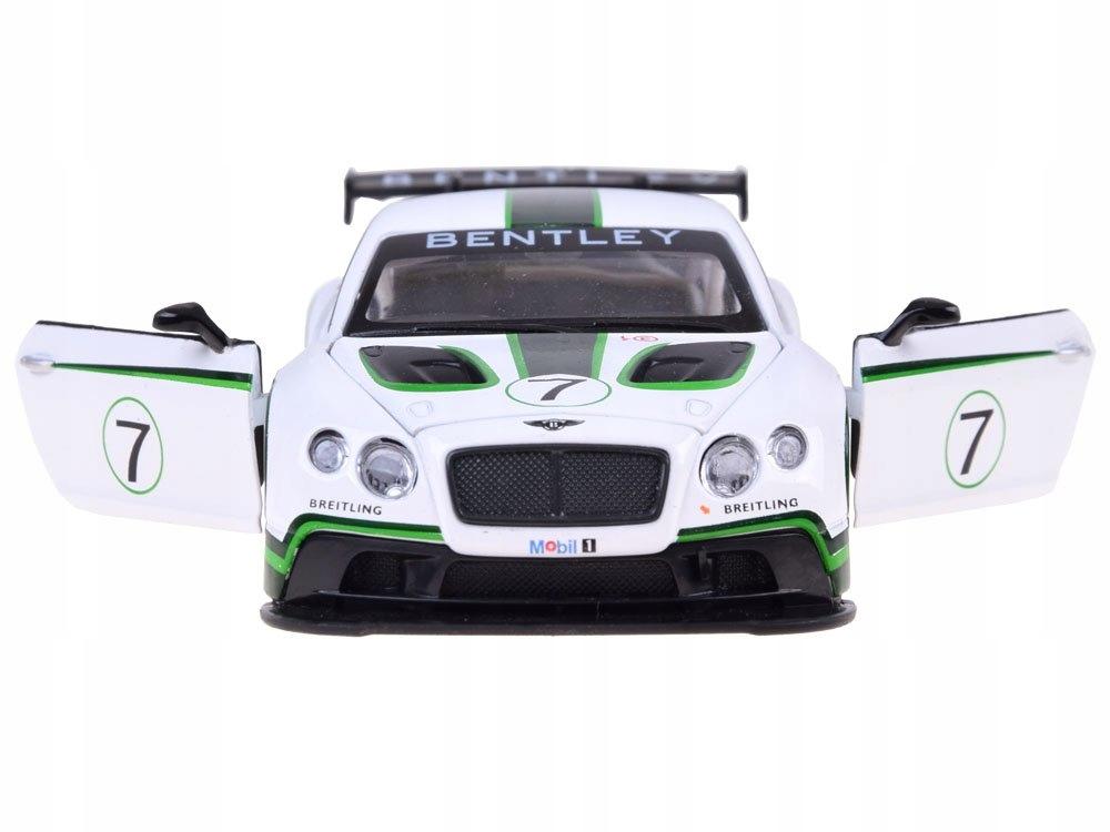 Sportowe auto Bentley 1:32 światło dźwięk ZA3142 Certyfikaty, opinie, atesty CE EN 71