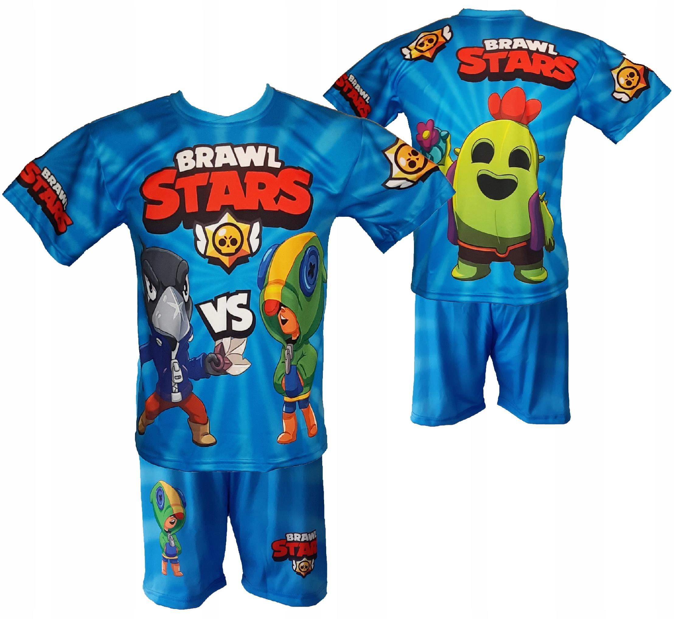 BRAWL STARS sada outfitu veľkosti 140