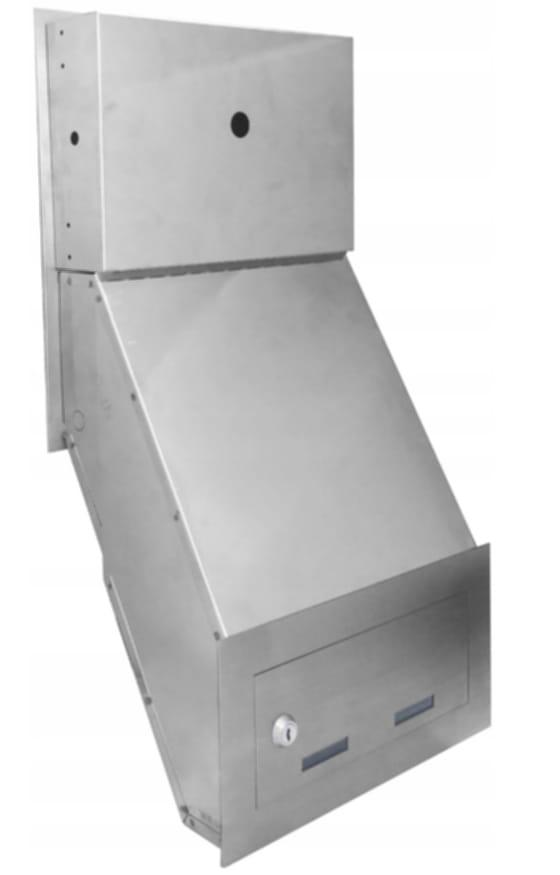 Wideodomofon IP SKRZYNKA NA LISTY 5tech Wi-Fi KOD Informacje dodatkowe Czytnik kart zbliżeniowych Ekran dotykowy Interkom Sterowanie napędem bramy Sterowanie oświetleniem