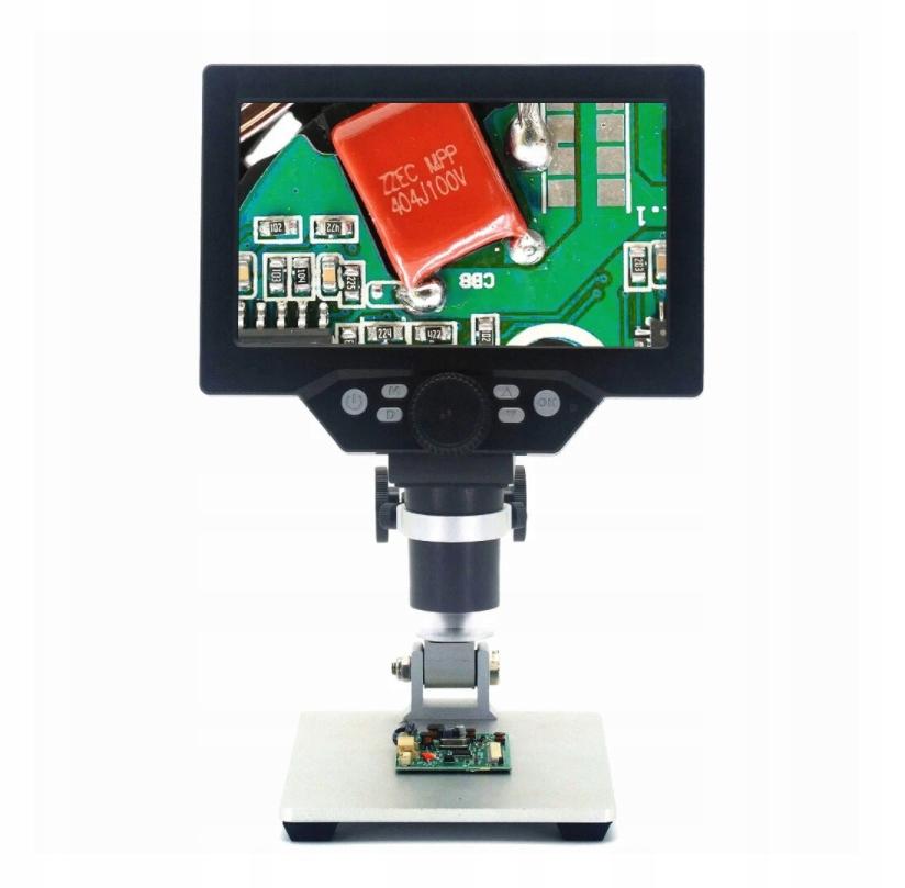Mikroskop cyfrowy 7-calowy HD LCD 12MP 1200X