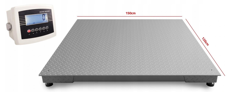 Платформенные весы 1,2x1,5 м. Весы для поддонов BIG BAGI 3T 5T