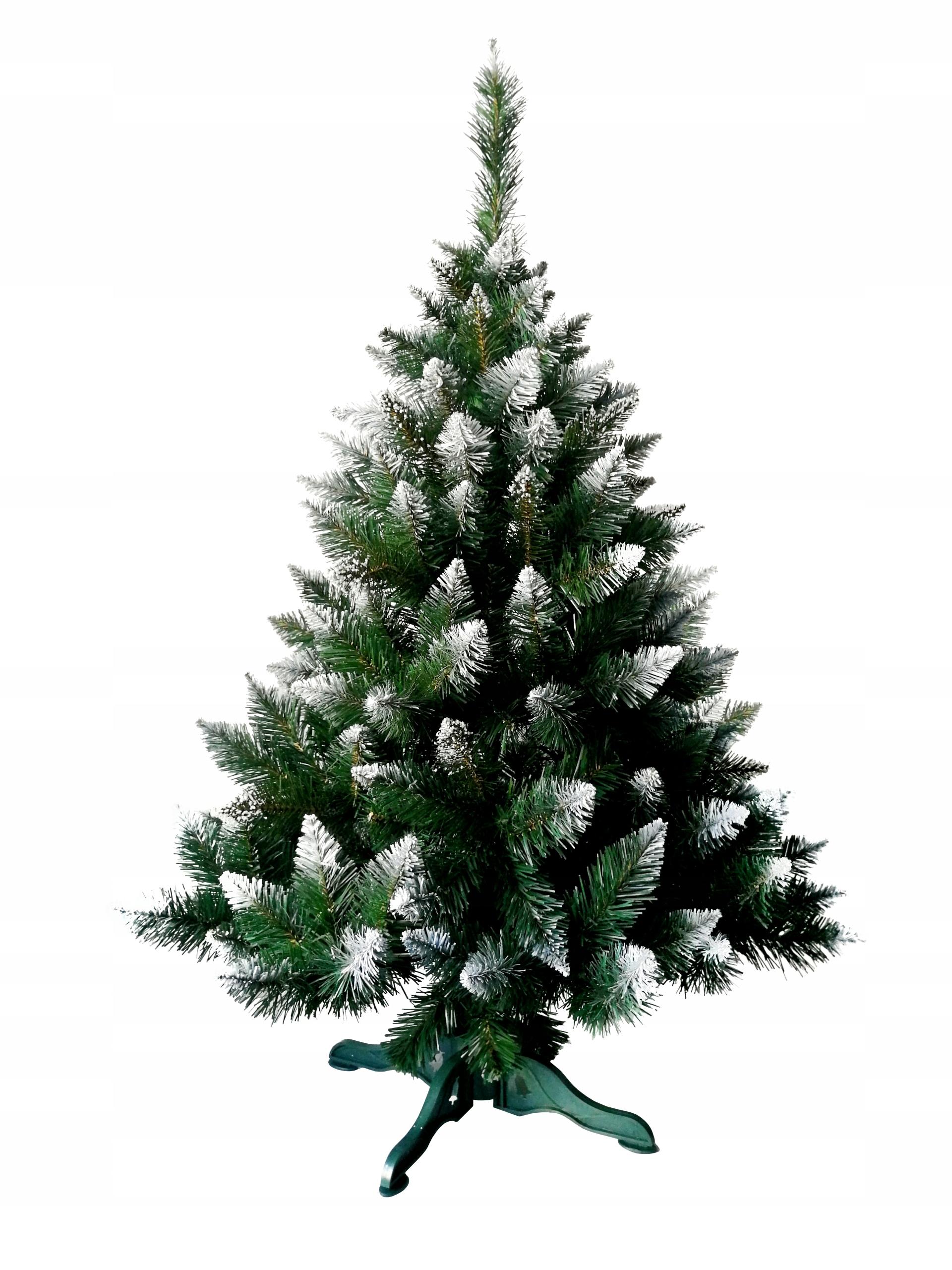 Umelý vianočný stromček na stojane PINE DIAMOND 120 cm