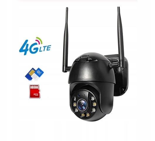 KAMERA 3G 4G GSM LTE OBROTOWA INTERNET Z KARTY SIM