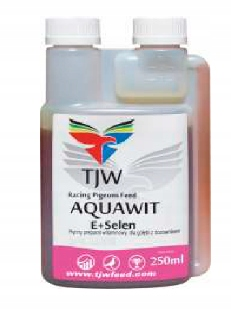 TJW Aquawit E + селен витамин для голубей 250 мл