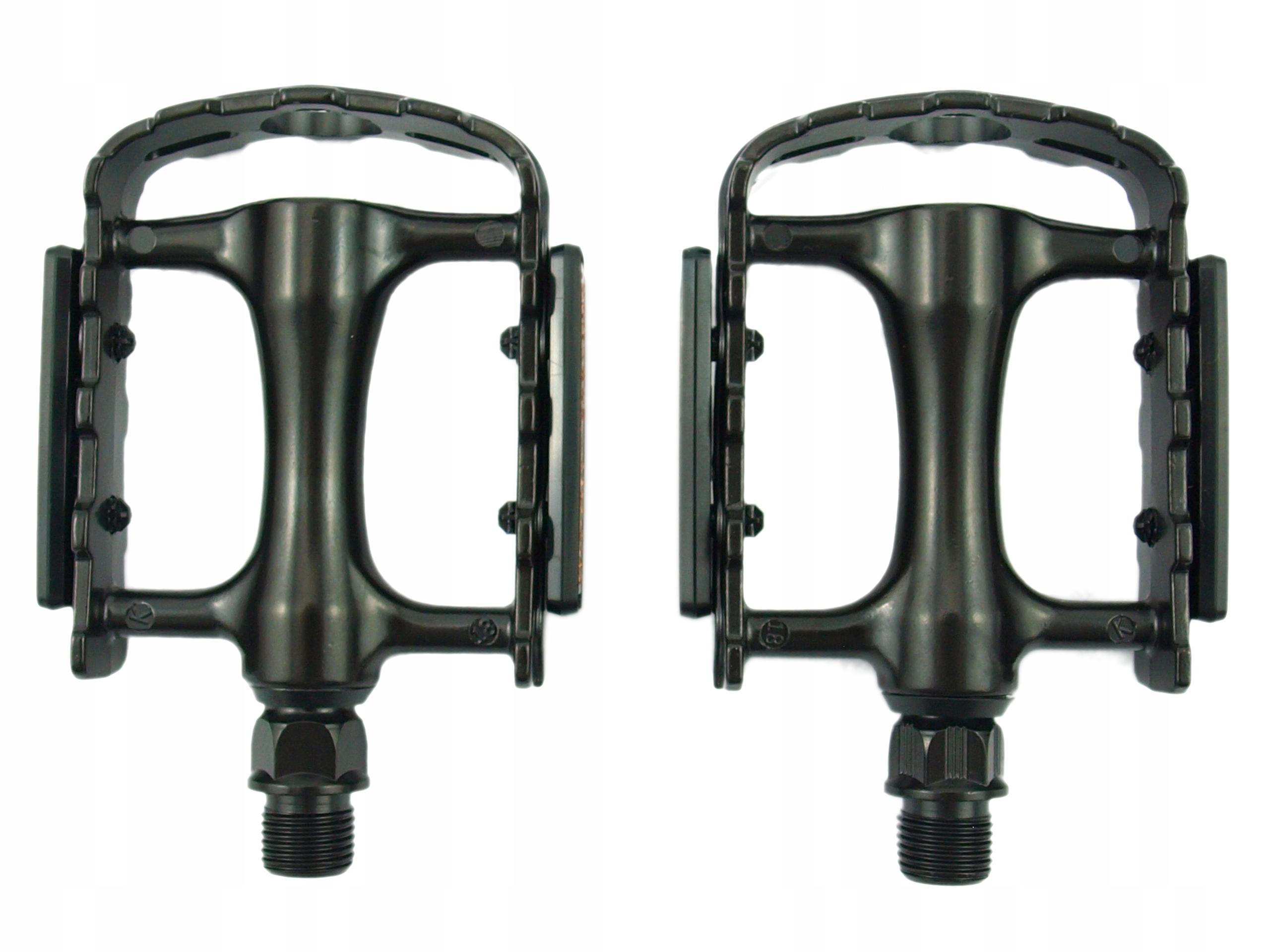 Pedały rowerowe aluminiowe platformowe PROX VPE465