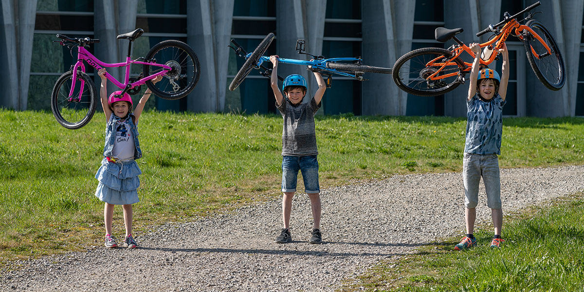 "Rower NALOO BIKES KAMELEON 24"" Pomarańczowy Hamulce V-brake"