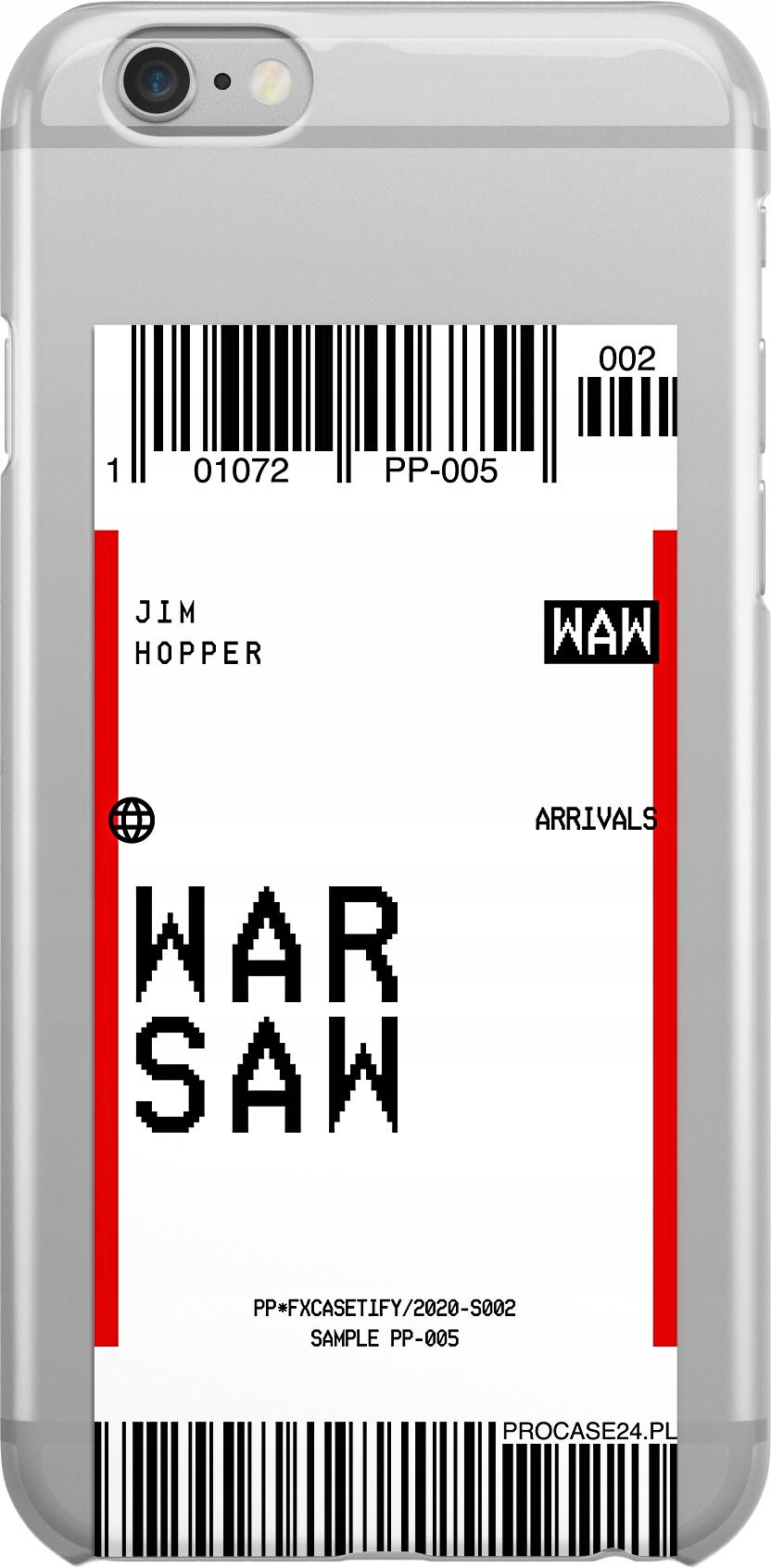 Etui Wzory Bilet Huawei P9