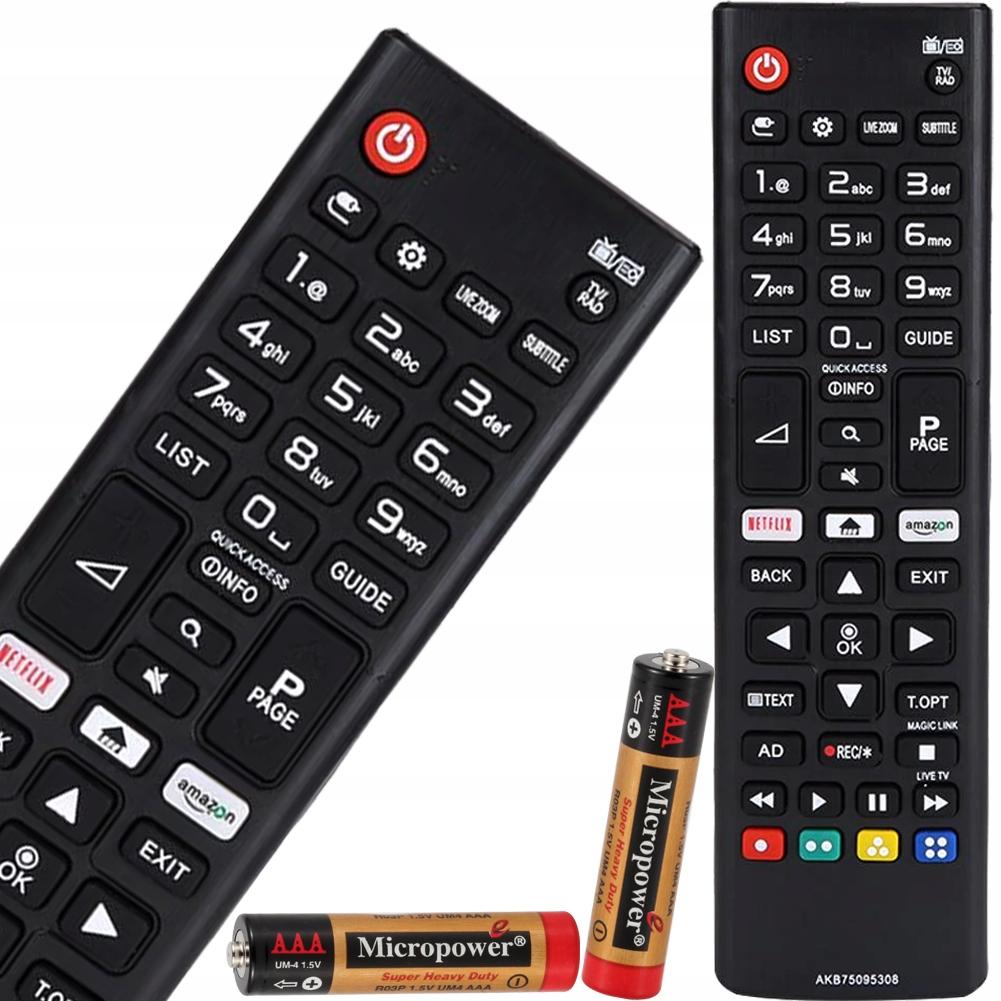 УНИВЕРСАЛЬНЫЙ ПУЛЬТ ДИСТАНЦИОННОГО УПРАВЛЕНИЯ ДЛЯ LG SMART TV С NETFLIX AMAZON