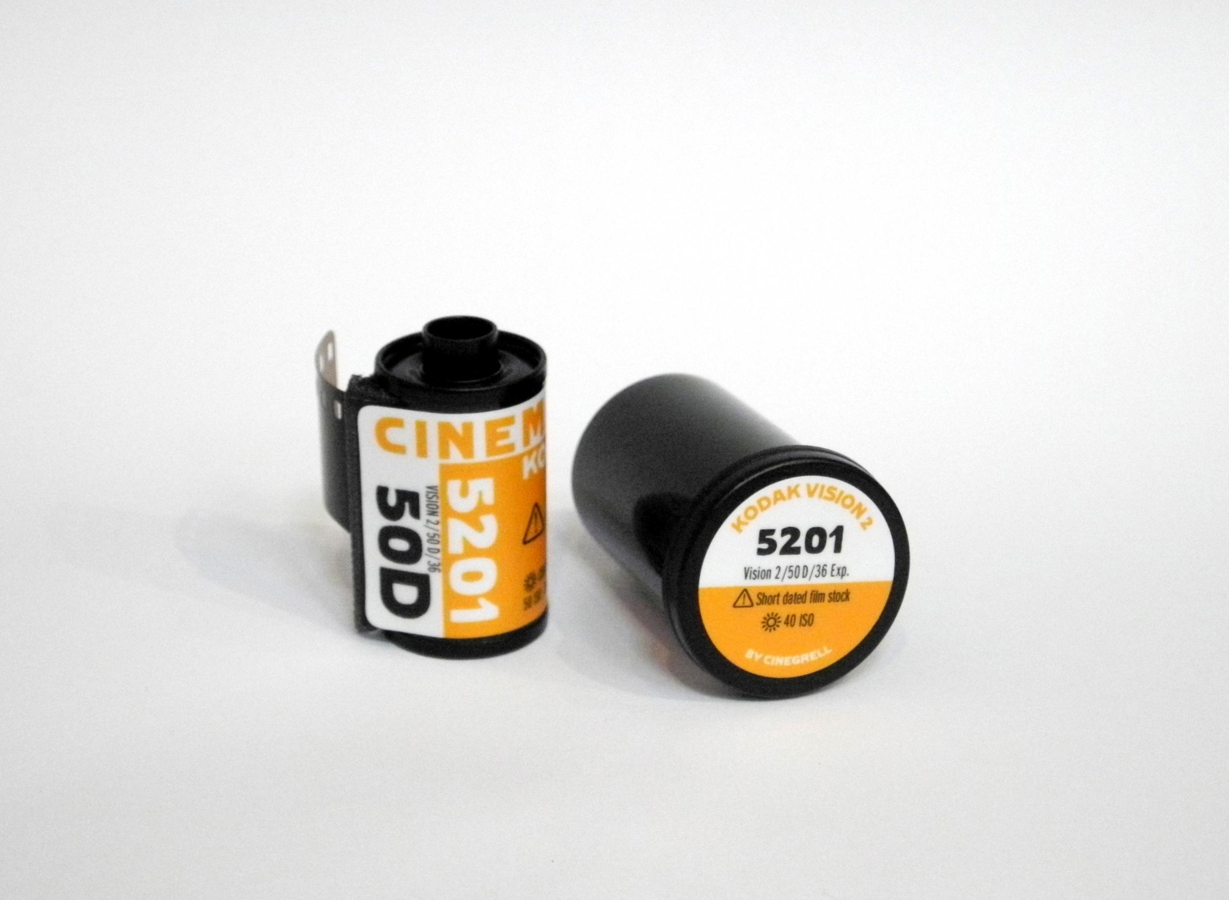 Страшное Kodak VISION лентам ампул D-РОЗОВЫЙ 5201