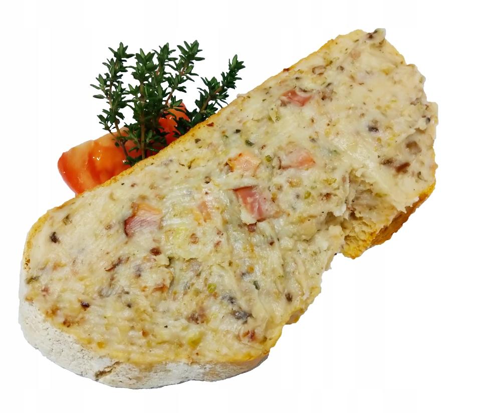 Сало с шкварками и луком для хлеба Swojski