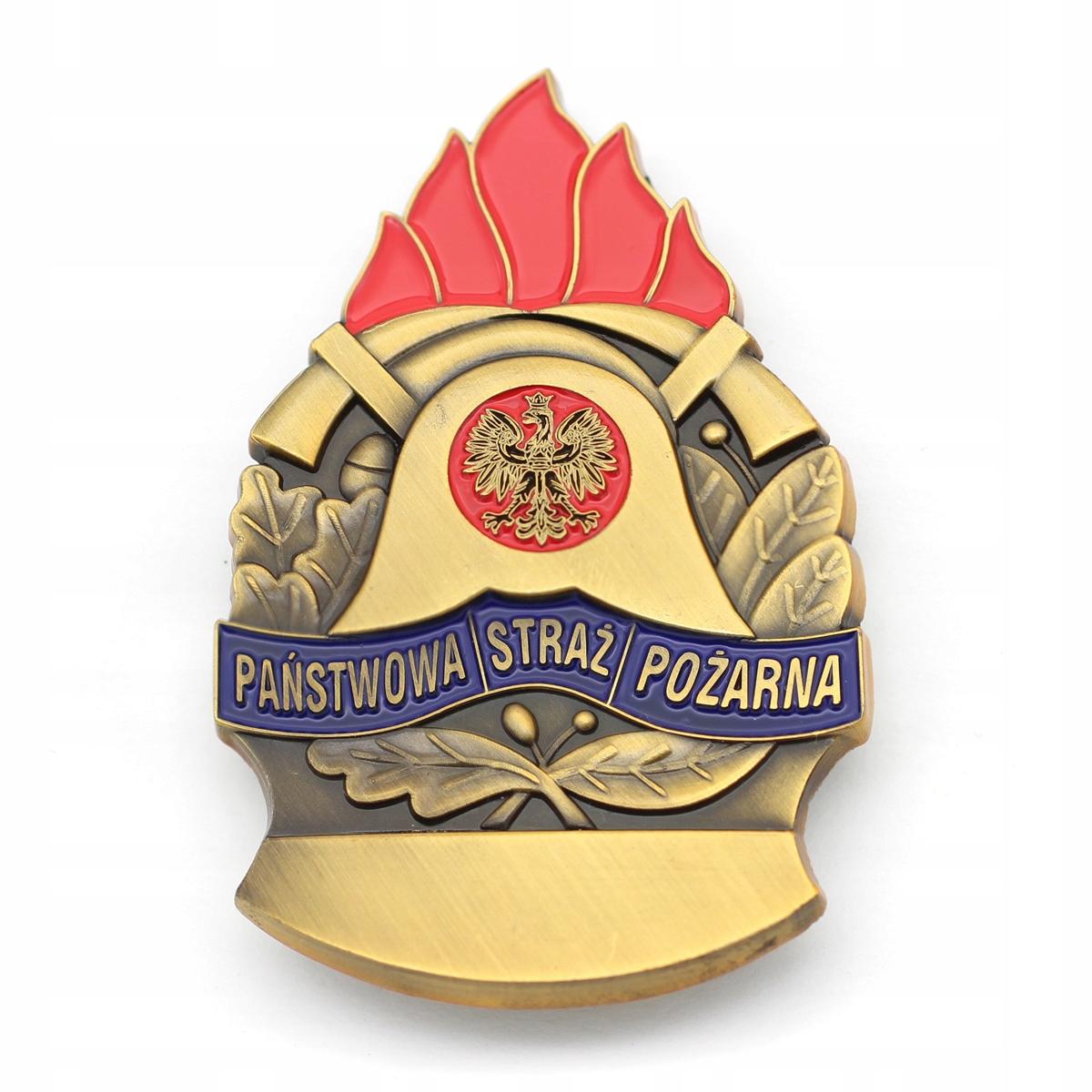 PSP State Badge Fire Brigade
