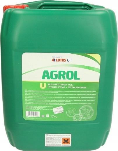 Масло гидравлическое трансмиссионное Agrol U 20л 17кг