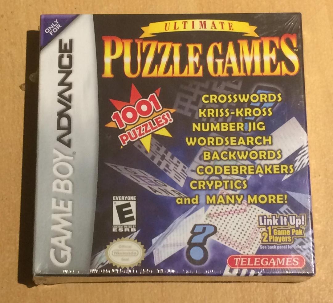 Ultimate Puzzle Games - skvelá sada pre GBA NÓWKA