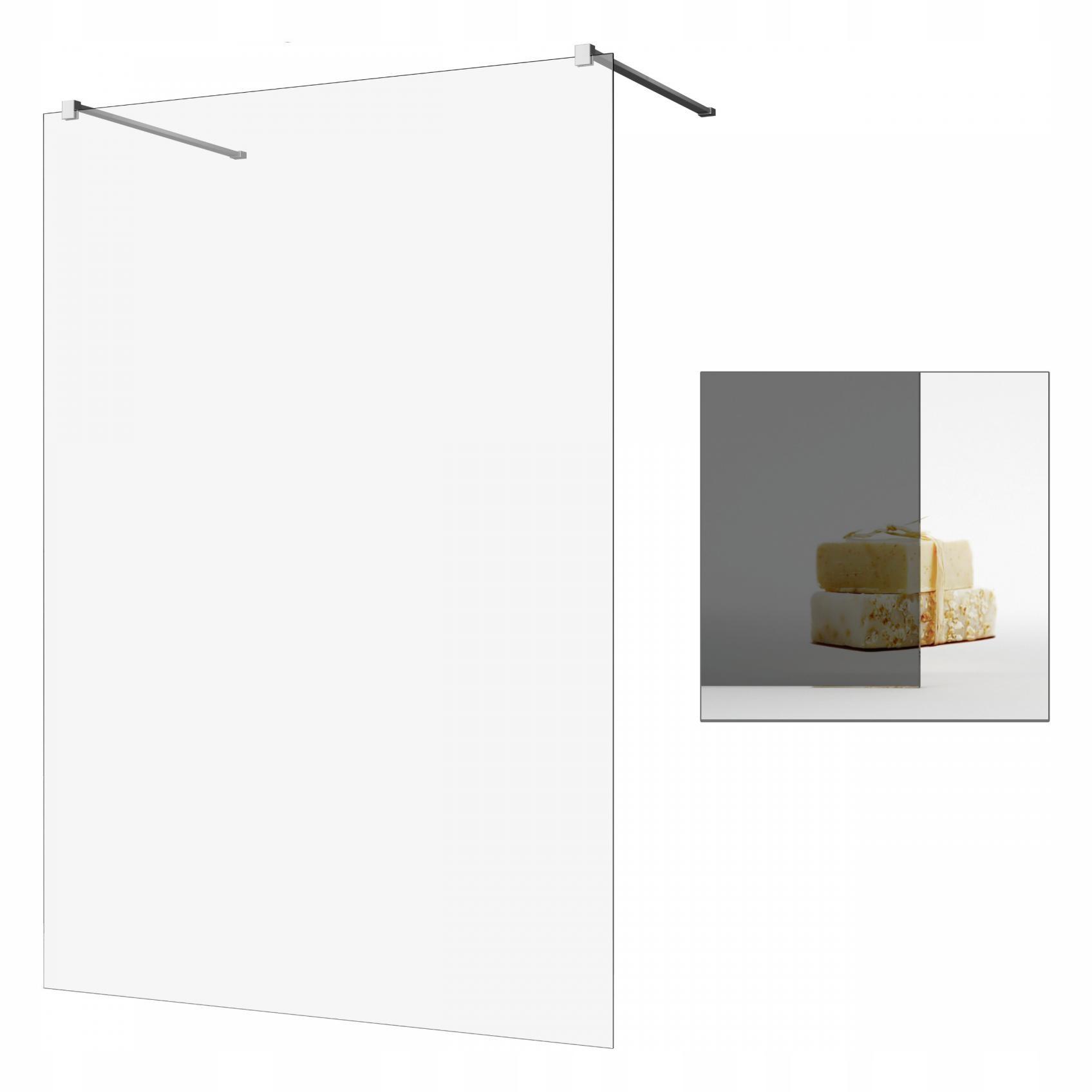 Sprchovací kút Walk-in Modo Nové 150 grafit