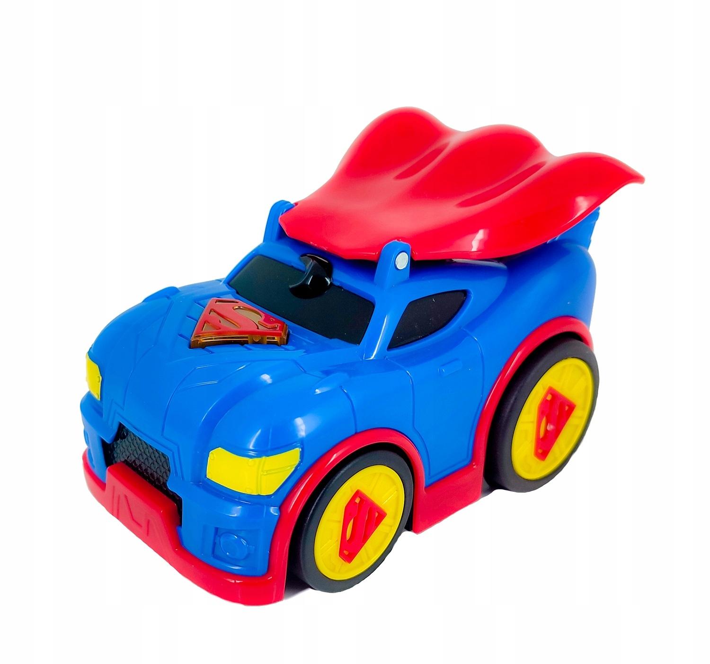 SUPERMAN AUTO ŚWIATŁO DŹWIĘK NAPĘD DC SUPER CAPE Model DC SUPER CAPE