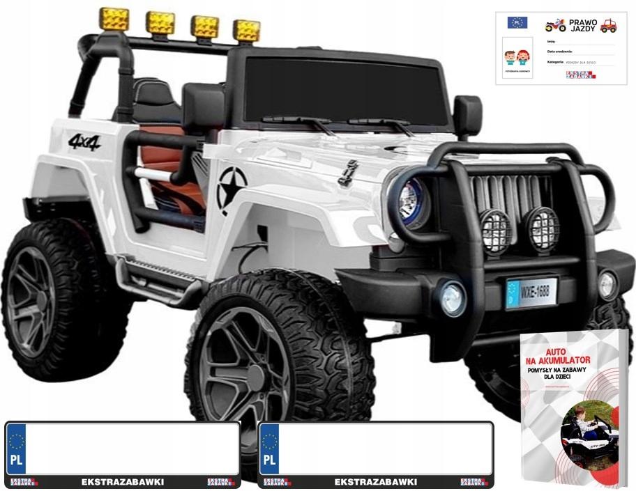 Auto Monster Jeep Na Akumulator 4x4 Dzieci Duze 8024701929 Allegro Pl