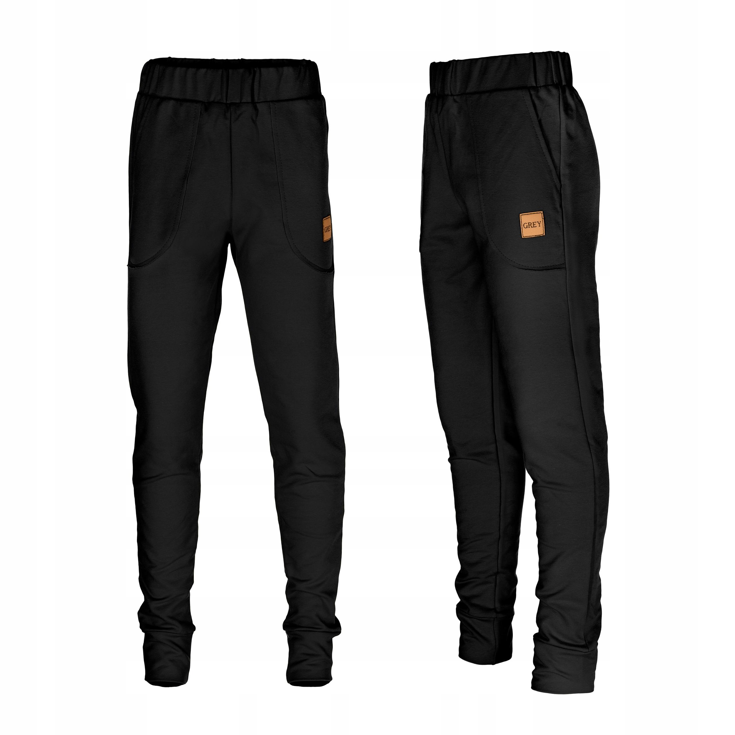 Spodnie dresowe modny fason dres KOLORY!!! r 140 9637468863 - Allegro.pl